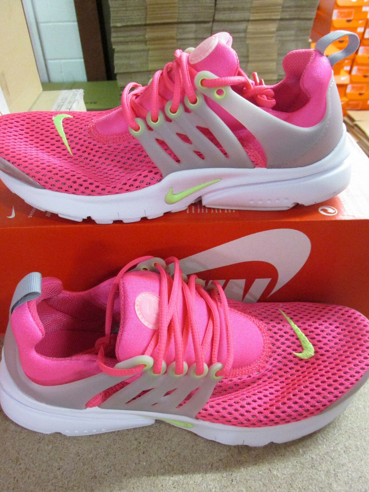 Descuento por tiempo limitado Nike presto BR (GS) youth running trainers 832251 631 sneakers shoes CLEARANCE