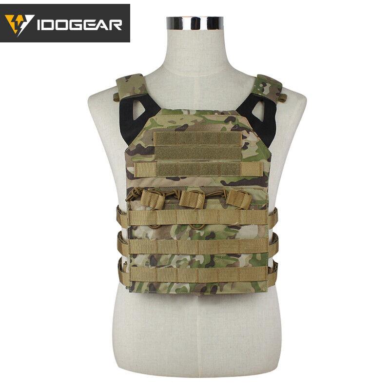 IDOGEAR Tactical Vest JPC Jumpable Plate Cocherier MOLLE Body Armor Military Gear