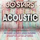30 Stars: Acoustic by Various Artists (CD, Apr-2015, 2 Discs, Sony Music)