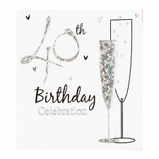 40th Birthday Party Invitation Cards Inc Envelopes 6 Pack Simon Elvin Qlty