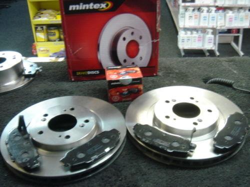 Honda ACCORD Type R mintex frein avant disque /& pads nouvel ensemble