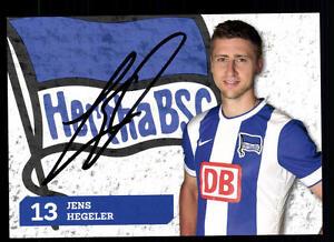 Autogramme & Autographen Aus Dem Ausland Importiert Jens Hegeler Autogrammkarte Hertha Bsc Berlin 2014-15 Original Sign+a 107578 Dauerhafte Modellierung
