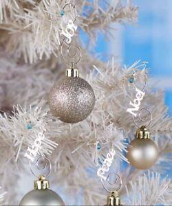 image is loading jeweled christmas tree ornament hooks set of 48 - Jeweled Christmas Trees