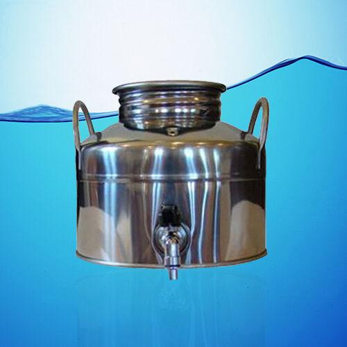Superfustinox Acier inoxydable distributeur d'eau fusti 5 L + cadeau