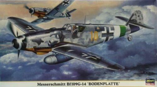 Hasegawa 1:48 Messerschmitt Bf-109 G-14 Bodenplatte Plastic Model Kit #09375U