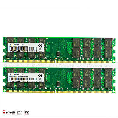 New 8GB 2x4GB PC2-6400 DDR2-800MHZ 240pin DIMM AMD Chipset High Density Memory
