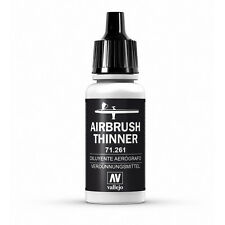 av vallejo model air 17ml thinners airbrush thinner thinners