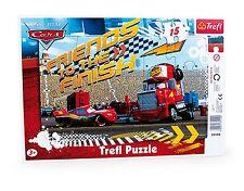 Rahmenpuzzle Cars 15 Teile Trefl Puzzle 33x23 cm
