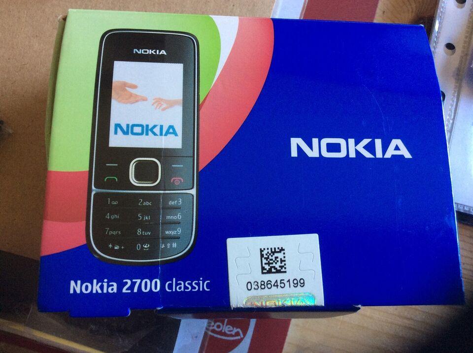 Oplader, t. Nokia, 2700