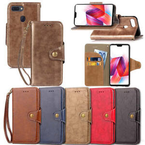 lowest price f20f0 bd243 Details about Leather Magnetic Flip Wallet Card Package Holder Case Covers  For OPPO R15 PRO AU