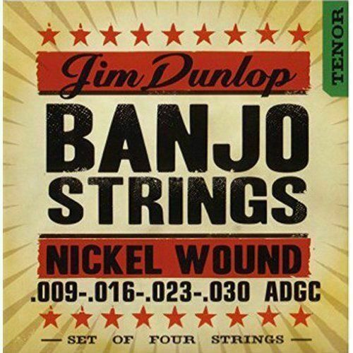 Dunlop Banjo Nickel Strings Tenor 4 String 009-030