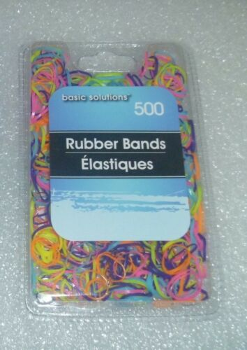 1000 New Elastic Rubber Bands OOAK Hair Redo Friend Bracelets Multi Colors