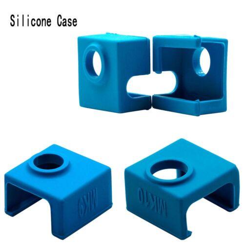 DIY Silicone Sock Cover For MK9//MK10 3D Printer Aluminum Heater Block Part 2018