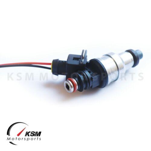 6x 440cc KSM Fuel Injectors for Toyota 7MGE 7MGTE 1JZ 1JZGTE 2JZ 2JZGE 2JZGTE