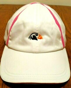 Imperial-Sports-Womens-Hat-Pink-White-Bandon-Dunes-and-Tufted-Puffin-One-Size