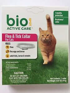 Bio-Spot-Flea-amp-Tick-Collar-for-Cats-Breakaway-fit-7-months-Protection
