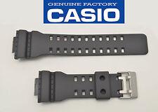 Casio Genuine 22 mmWatch Band Rubber Strap Greyish Black G-Shock GA-110C-1A