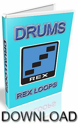 ELECTRO REX LOOPS ABLETON PRO TOOLS  LOGIC CUBASE FL STUDIO REASON REFILL