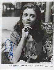 Susan Sarandon Autogramm signed 20x25 cm Bild s/w