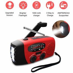 Portable-Emergency-Solar-Hand-Crank-Radio-AM-FM-WB-LED-Flashlight-Phone-Charger