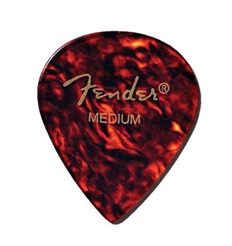 Fender 551 Classic Celluloid Guitar Picks 12-Pack SHELL 1 Dozen THIN