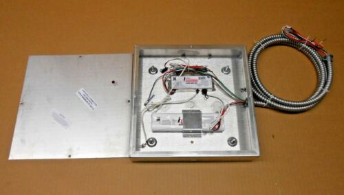 1 NIB FULHAM FHS2-UNV-36L LED DRIVER W// 9.6VDC BATTERY BACK-UP AND SS ENCLOSURE