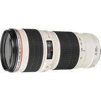 Canon Usm Zoom Telephoto Ef 70-200mm F/4l Lens
