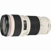 Canon Usm Zoom Telephoto Ef 70-200mm F/4l Lens