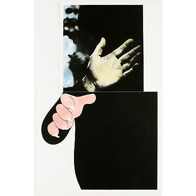 John Baldessari: Two Hands (With Distant Figure),1989-90. Signed, Numbered Print