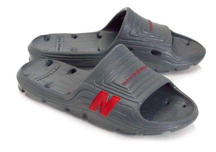 17f623215c11 New Balance Balance Balance Float Slide Mens Lightweight Sandals Charcoal  Red Sz 12   13 af0403
