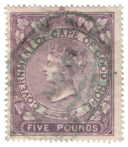 I-B-Cape-of-Good-Hope-Revenue-Duty-Stamp-5-1865