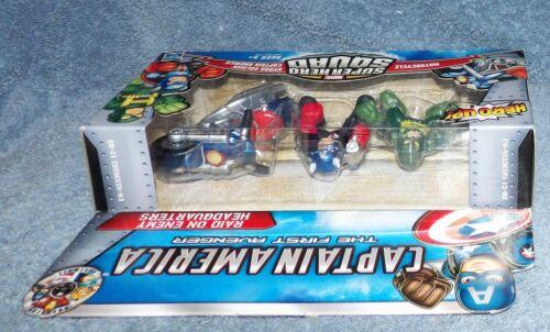 Super Hero Squad Captain America Raid sur ennemi Siège Set