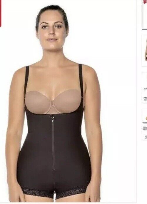 Open Bust Body Shaper Boyshort with Firm Tummy Compression (Size-XS) 80.00
