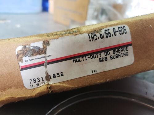Details about  /DODGE 455559 V BELT SHEAVE 1B60SDS BROWNING 1A5.6B6.0-SDS MAX RPM 3910 NEW $25