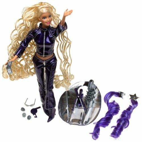 Barbie Cool Lookz Salon Playset and Cool Lookz Trendy and Bendy Doll new mib