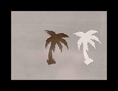 Airbrush Schablone Step by Step Baum Stencil Pflanze A079 Palme