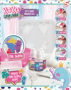 Soap-Create-Your-Own-DIY-Kit-XOXO-Love-amp-Hugs-Age-6-Sambro-Free-UK-Postage