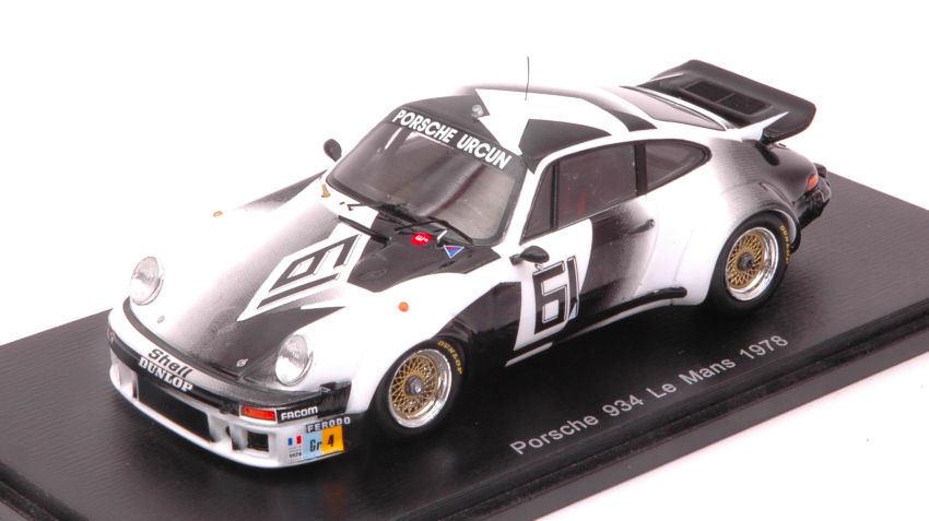 Porsche 934  61 Dnf Lm 1978 G. Chasseuil   J. C. Lefevre   M. Mignot 1 43 Model