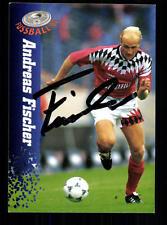 Andreas Fischer Hamburger SV Panini Card 1995 Original Signiert +A98526