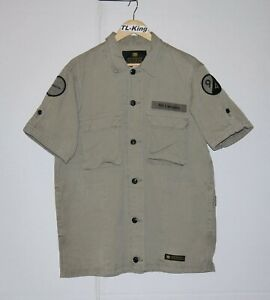 Neighbourhood-NBHD-Militray-BDU-Half-Sleeve-Work-Shirt-Made-In-Japan-XL-USED
