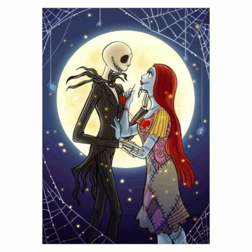 The Nightmare Before Christmas 5D Diamond Painting Embroidery Cross Stitch Kits