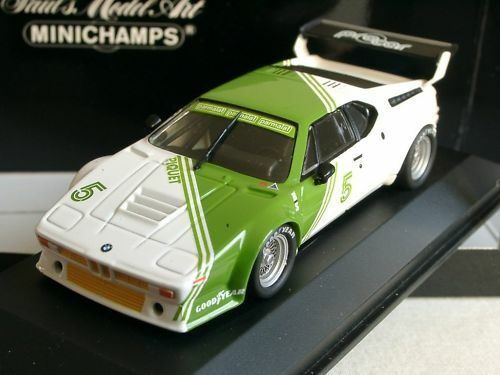 MINICHAMPS BMW m1, Workscar, N. Piquet - 430 802505 - 1 43