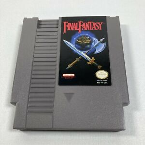 Final-Fantasy-Nintendo-NES-1990-Cart-Only-100-Authentic-Tested-Working