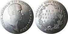 Preussen AKS  11  1 Taler Friedrich Wilhelm 3 Eine feine Mark 1815 A  in  f.STG
