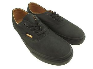 5dffed2281 Vans Men Era Decon CA - Mono Leather black rubber VN0OX1GJP