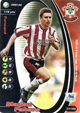 FOOTBALL CHAMPIONS 2001-02 Marian Pahars 211/250 Southampton F.C. FOIL