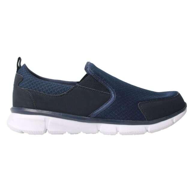 Slazenger Da Uomo Zeal Slip On Scarpe da ginnastica scarpe sportive maglia superiore di tutti i giorni