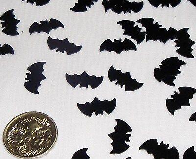 Wedding Table Scatters Foil Confettii Bats Black