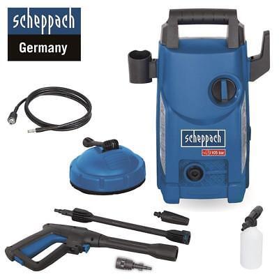 Scheppach HCE1500 Hochdruckreiniger 105 bar Flächenreiniger 408l/h Dampfstrahler