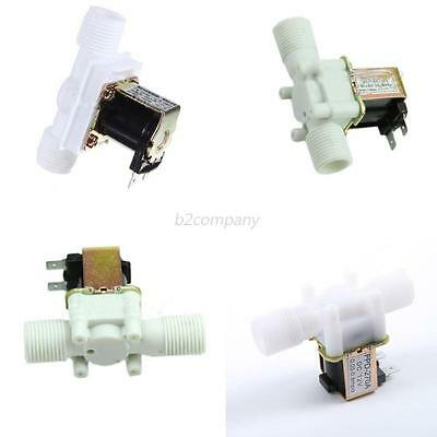 "Electric Solenoid Valve Magnetic  1/2"" 12V DC N/C Water Air Inlet Flow Switch"